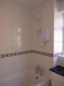 electric shower bath