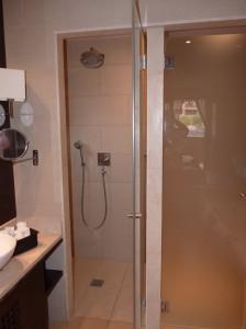 luxury spa showers